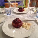 dessert - romantic dinner