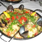 Paella at Lola's