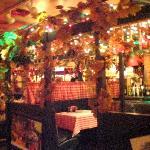 Inside Tomato Street Italian restaurant in Coeur d Alene, ID