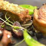 GOAT – BRUNY ISLAND - confit loin - roast shoulder - braised rump - charred eggplant - beetroot