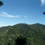 Hillside scenery from Happy Farm.
