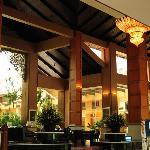 Imposing lobby