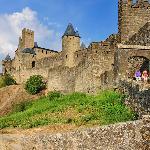 Carcassonne : porte de l'Aude