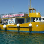 Semi-submarine boat trip