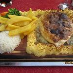 Chicken plank
