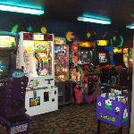 A big arcade! This place brings out the kid in me...oh yeah they have cookie time too! Love it