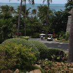 Strada per spiaggia