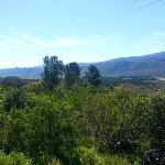 Valley view - bring your binoculars!