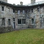 Beamauris Gaol exercise yard