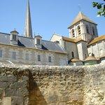 View of Abbaye from the River Gartempe, Saint Savin