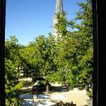 View from hotel room, Saint Savin