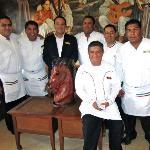 Osval Alaya and Staff
