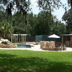 Another view of our luxurious pool and louge area.