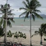 patong beach from balcony