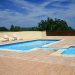 piscine avec coté vignes
