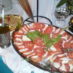 Tomate mozarella du buffet langouste