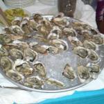 huitres fraiches du buffet langouste