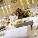 Private dining in the Yellow Room