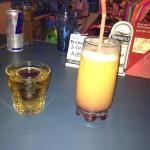 jäger bomb and pussy crasher best drink in Bulgaria haha
