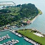 The Lucija Campsite is located on the Seča peninsula in Portorož. Its distinctive features inclu