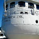 Stern of Canadian Princess