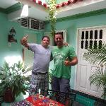 Roberto and me!