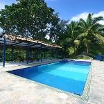 Pool area of Villa Maria