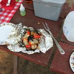 Dinner on the Campfire