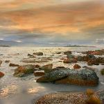 Diamond Island Sunset - Bicheno