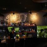 Closer look at the bar