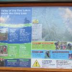 Valley of the Five Lakes Info Board