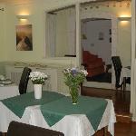 Hotel brekfast room