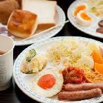 健康朝食例