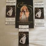 Celine Dion Tickets :)