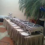 servicio de buffet,algo muy diferente