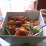 Shrimp salad. Yummy!