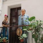 Casa de Diego Rivera cruzando la calle del Hotel