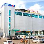 The hotel Siberia in in the centre of Ulan-Ude