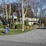 Entrance to Spa Lodge