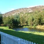 View from our cottage
