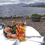 Dine in the stunning setting of Loch Linnhe