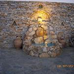 fontana all'ingresso