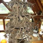 Chandelier in main area