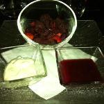 Dessert fruits rouges
