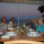 Happy Dinner Crowd