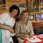 Lydie Worked in Hannelore Restaurant Rudesheim for 36 years