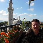 Breakfast amid the minarets on The Ambassador's rooftop restaurant