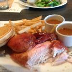 Half Chicken Dish