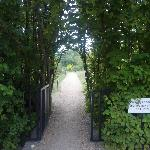 Entrance to the vegetable garden