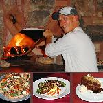Woodfired Brick Oven for Flatbread Pizzas